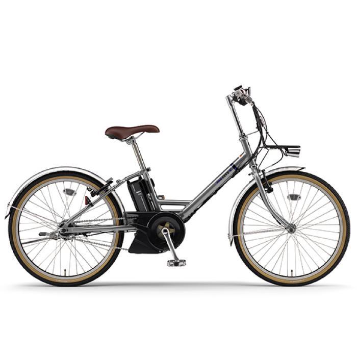 YAMAHA(ヤマハ) 2020 24型 PAS CITY-V ミラーシルバー(154cm-) 電動アシスト自転車