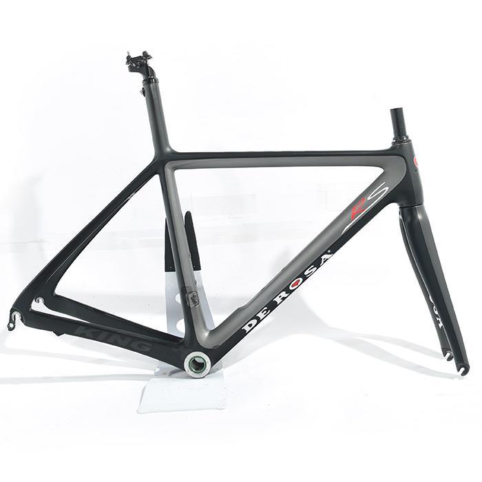 【中古】 DE ROSA (デローザ) 2012モデル KING RS サイズ61.5 (175-180cm) フレームセット 【自転車】
