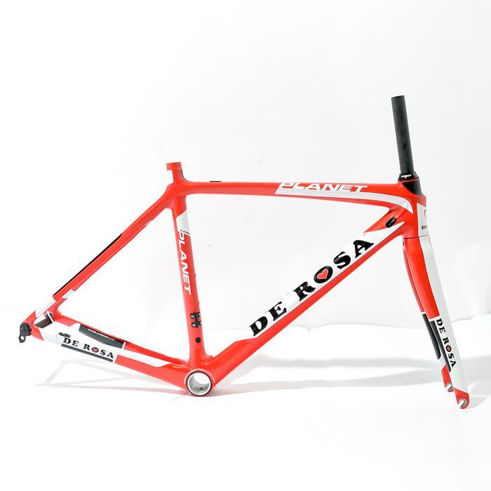 【中古】 DE ROSA (デローザ) 2016モデル PLANET プラネット Di2対応 サイズ50(167.5-172.5cm) フレームセット 【自転車】