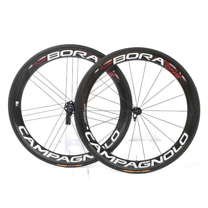 【中古】Campagnolo (カンパニョーロ)BORA ONE ボーラ ワン チューブラー シマノ用11S ホイールセット【自転車】