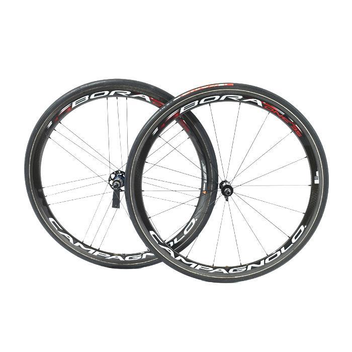 【中古】Campagnolo (カンパニョーロ)BORA ONE 35 チューブラー シマノ11S ホイールセット【自転車】