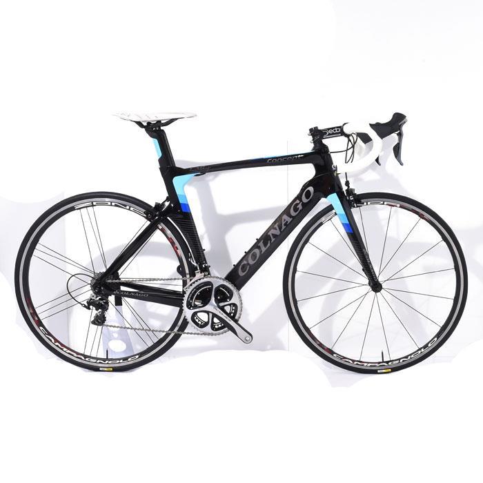 【中古】COLNAGO (コルナゴ)2017モデル CONCEPT コンセプト ブラック/ブルー DURA-ACE 9000 11S サイズ520S (175-180cm) 【ロードバイク】