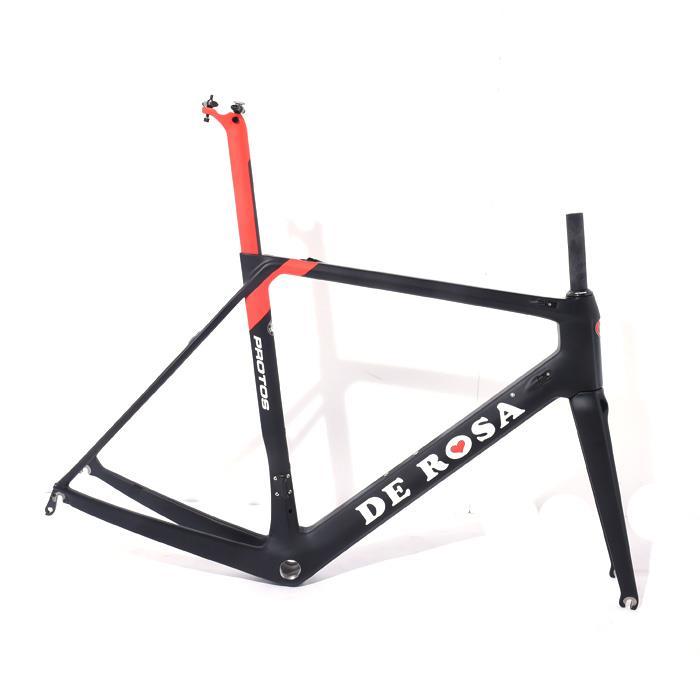 【中古】DE ROSA (デローザ)【未使用品】 2018年モデルPROTOS プロトスサイズ55 (178-183cm)フレームセット【自転車】