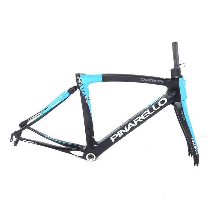 【中古】PINARELLO (ピナレロ)【未使用品】2016年モデルDOGMA K8-S ドグマTEAM SKYサイズ46.5 (166-171cm)フレームセット【自転車】