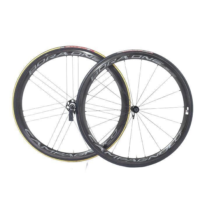 【中古】Campagnolo (カンパニョーロ)BORA ONE ボーラワン 35wide rim チューブラーシマノ用11S ホイールセット【自転車】