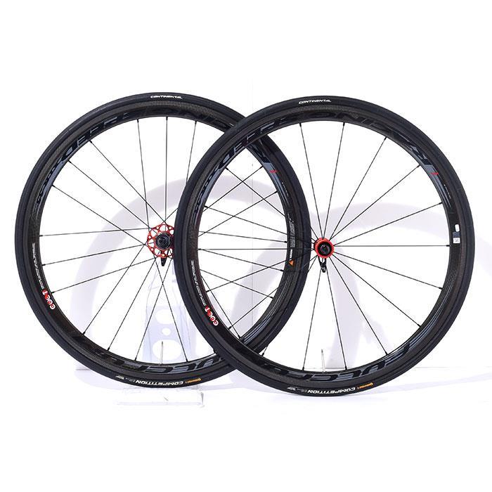 【中古】FULCRUM (フルクラム)RACING SPEED XLR 35 レーシングスピード シマノ11S チューブラー ホイールセット【自転車】