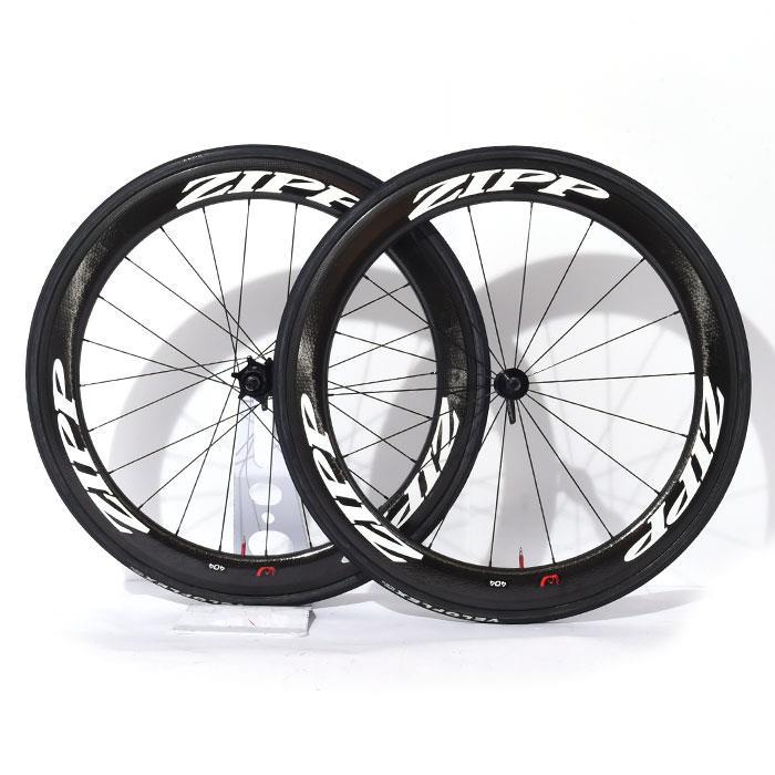 【中古】ZIPP (ジップ)404 Firecrest TU ファイアクレスト チューブラー シマノ11S ホイールセット【自転車】