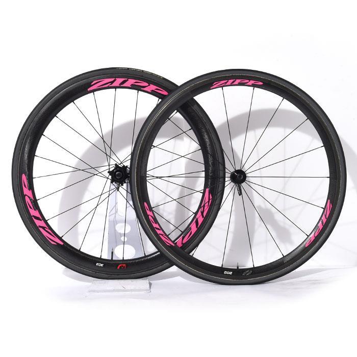 【中古】ZIPP (ジップ)202 / 303 TU チューブラー シマノ11S ホイールセット【自転車】