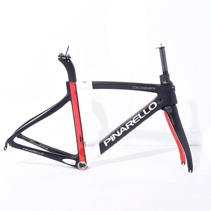 【中古】PINARELLO (ピナレロ) 2016 DOGMA F8 ドグマ サイズ465 (166-171cm) フレームセット【自転車】