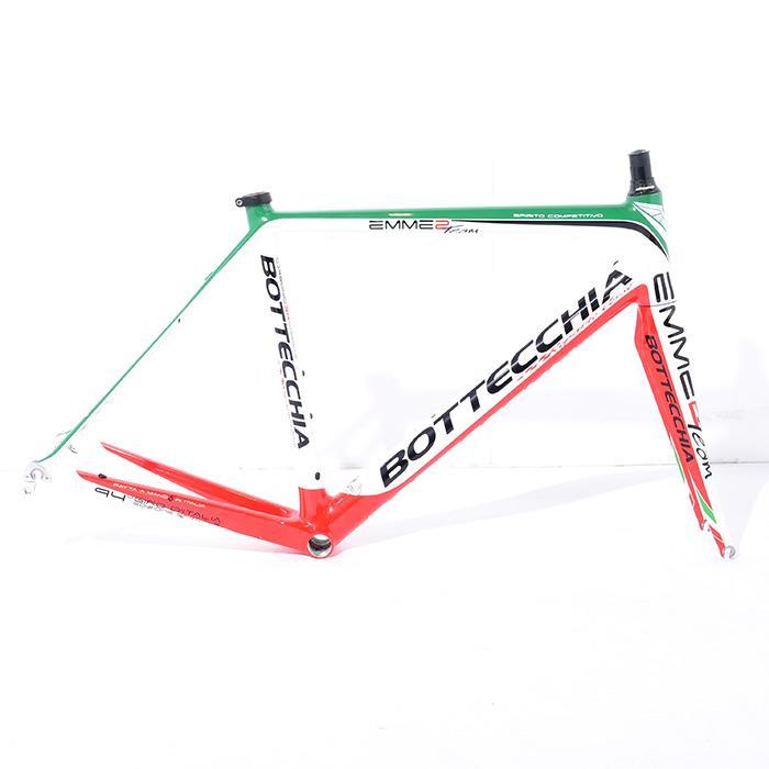【中古】Bottecchia (ボテッキア) 2012モデル EMME2 TEAM GARZELLI エンメ2 チーム ガルゼッリ サイズ51 (176-181cm) フレームセット【自転車】