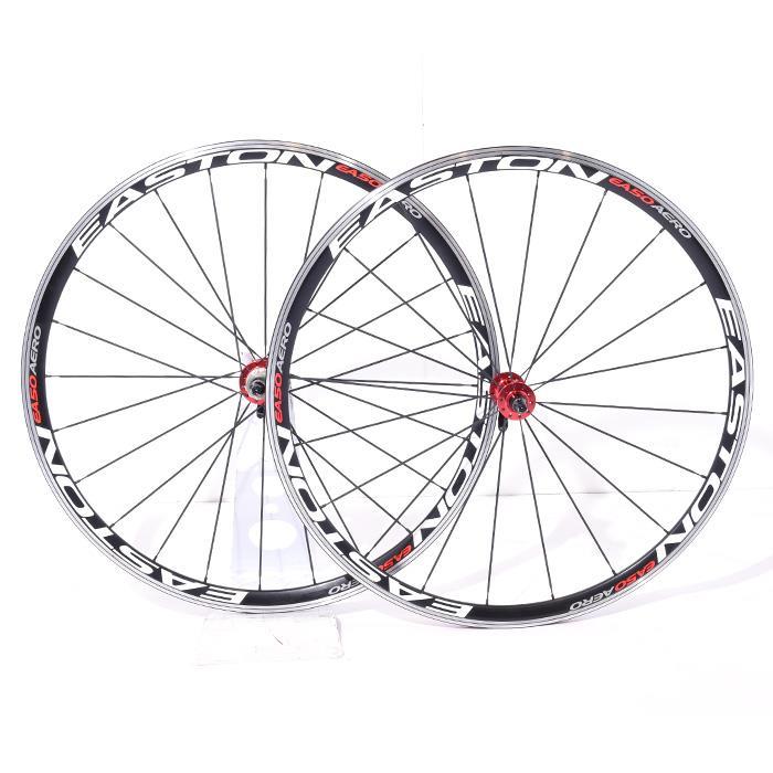 【中古】EASTON (イーストン)EA50 AERO クリンチャー シマノ10S ホイールセット【自転車】