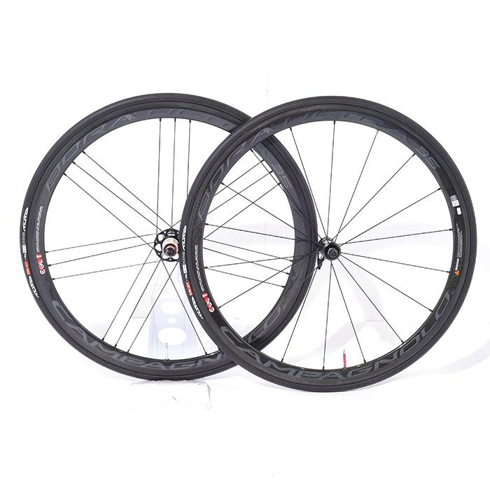 【中古】Campagnolo (カンパニョーロ)BORA ULTRA 35 DARK ボーラウルトラ チューブラー シマノ11S ホイールセット【自転車】