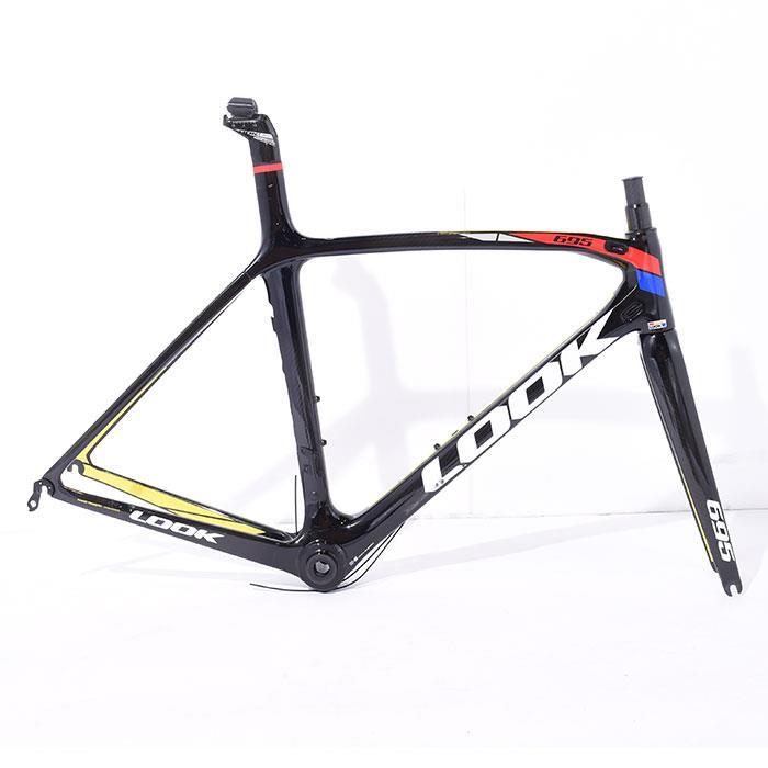 【中古】LOOK (ルック) 2015 695 ZR サイズS (170-175cm) フレームセット【自転車】
