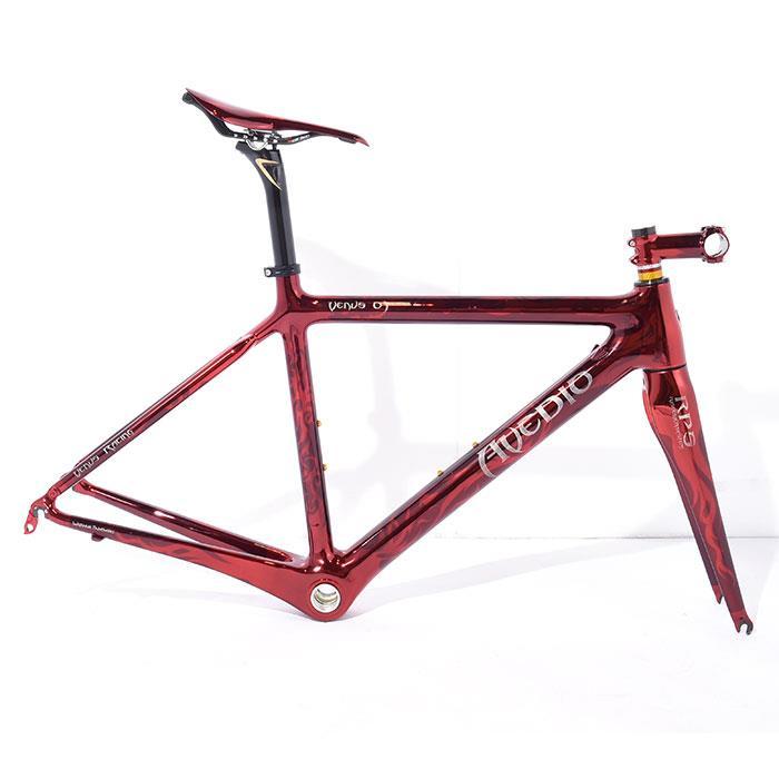 【中古】Avedio (エヴァディオ) VENUS 01 ヴィーナス ステム/サドル/シートポスト付 サイズ47 (167.5-172.5cm) フレームセット【自転車】