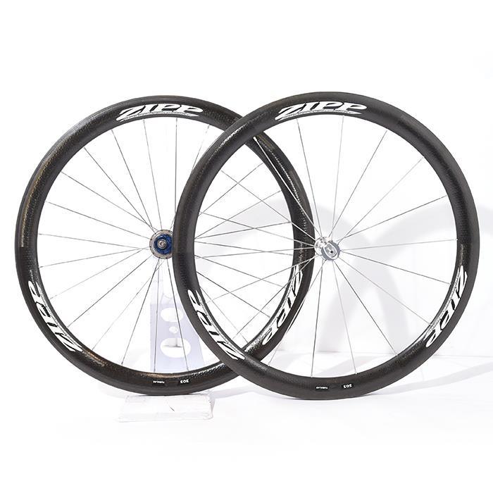 【中古】ZIPP (ジップ) 2009 303 TU チューブラー カンパ11S ホイールセット【自転車】