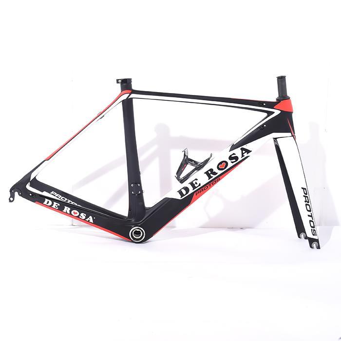 【中古】DE ROSA (デローザ) 2016モデル PROTOS プロトス サイズ47.5 (168-173cm) フレームセット【自転車】