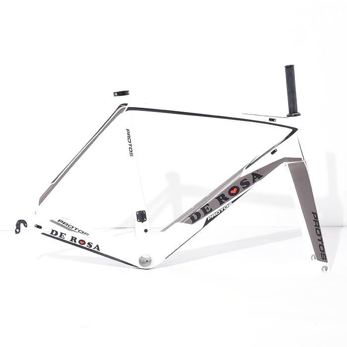 【中古】DE ROSA (デローザ) 2016モデル PROTOS プロトス サイズ52.5 (175-180cm) フレームセット【自転車】