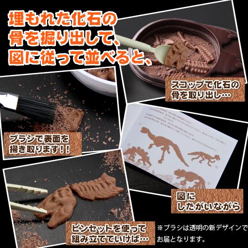 巧克力的樂趣 ♪ 益智侏羅系朱古力 (巧克力) / 10P02Aug14