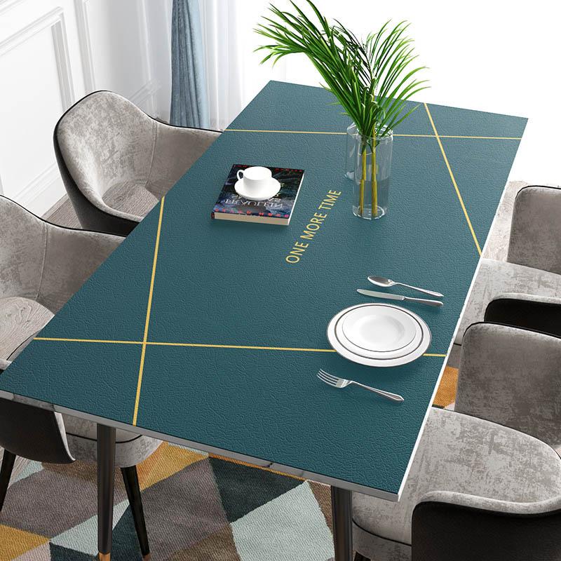 送料無料 テーブルクロス テーブルマット PVC製 デスクマット マット テーブルカバー 長方形 防水 耐久 汚れ防止 チェアマット 床保護シート キズ防止 50*100cm/60*120cm 厚さ1.8mm 海外通販
