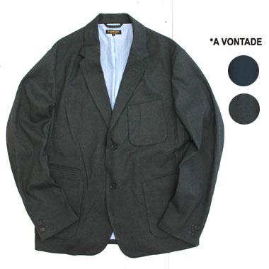 A VONTADE (アボンタージ) ラウンジ ジャケット Lounge JacketVTD-0279-JK / a vontade ジャケット / ア ボンタージ セットアップ / メンズ / テーラードジャケット / ビジネスカジュアル / 日本製 / 正規取扱店