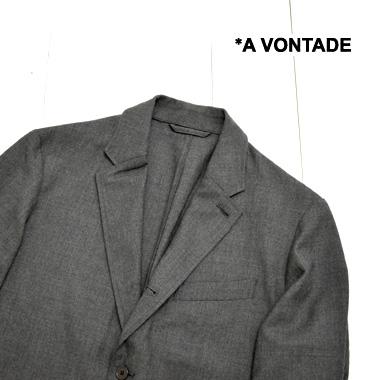 《送料無料》羽織れるしなやかな着心地に仕上げたジャケット A VONTADE ア ボンタージ 買い物 コンフォート 3釦 ジャケット Comfort ビジネスカジュアル avontade テーラードジャケット 百貨店 メンズ 日本製 3B JacketVTD-0431-JK 送料無料 アウター