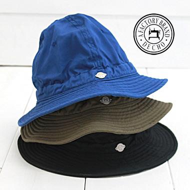 授与 ベンタイルを使用した狩猟用帽子をイメージしたハットです DECHO デコー ハンターハット ベンタイル 毎日がバーゲンセール HUNTER HAT - VENTILE レディース ハット メンズ -D-14 帽子 日本製 正規取扱店 decho