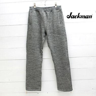 Jackman (ジャックマン) ガラガラ スウェット パンツ GG Sweat TrousersJM4747 / メンズ / スウェット / トレーナー / 裏毛 / jackman パンツ/ 日本製 / 正規取扱店