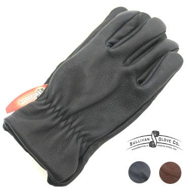 SULLIVAN GLOVE (サリバングローブ) 革 手袋 The Buffalo Gloveメンズ / レザー / バイカー / 防寒 / 暴風 / 水牛 / アメリカ製
