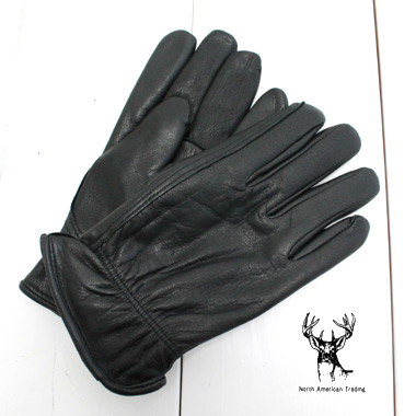 水にも強く 柔らかいディアスキンの手袋です North American Trading ノースアメリカントレーディング オープニング 大放出セール 革 手袋 ディアスキン グローブ 防寒 DEERSKIN 日本全国 送料無料 メンズ レザー ThinsulateG-013T バイカー 防風 鹿 GLOVE