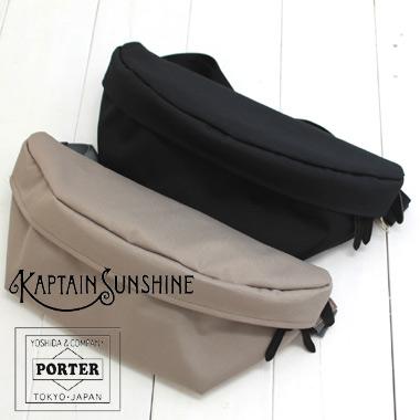 KAPTAIN SUNSHINE(キャプテンサンシャイン) スタンダード ボディ パック Standard Body pack MADE BY PORTER KS20SGD10 kaptain sunshine×porter ポーター バッグ ナイロン 2020ss