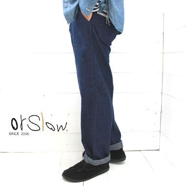 orslow (オアスロウ) ユーエス ネイビー デニムパンツ US NAVY DENIM PANTS MEN'S01-5130-81 / orslow デニム / メンズ / 日本製 / 正規取扱店