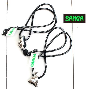 人気のサンガよりネックレスの登場です SANGA 高品質新品 サンガ ネックレス NECKLACE STONE MONOアクセサリー メンズ 新登場 日本製 レディース フェス 正規取扱店 ホールド ボルダリング アウトドア クライミング