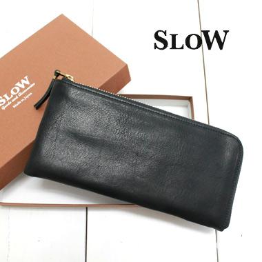 SLOW (スロウ) スマート ロングウォレット smart long wallet 【bono】SO630F メンズ レディース 財布 長財布 L字 ラウンドジップ 本革 ブランド 日本製 送料無料