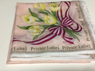私人的標簽Private Label手帕棉布4568