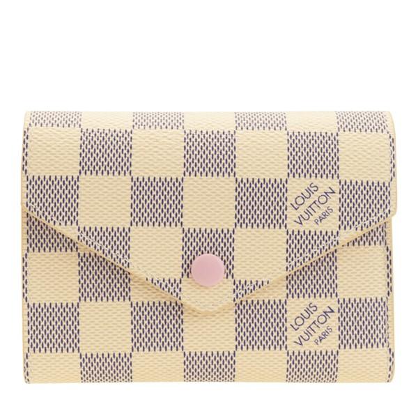 ルイヴィトン 財布 LOUIS VUITTON 三つ折り財布 レディース ポルトフォイユ・ヴィクトリーヌ n64022