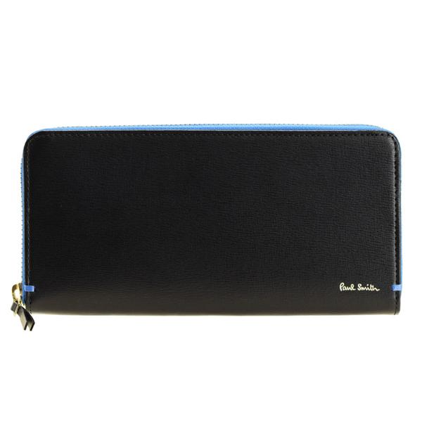 ポールスミス PAUL SMITH アウトレット ラウンドファスナー長財布 メンズ psmlw0004 | ファスナー ウォレット サイフ さいふ 財布 ブランド財布 カード 収納 多い 小銭入れ かっこいい おしゃれ オシャレ ブランド ビジネス