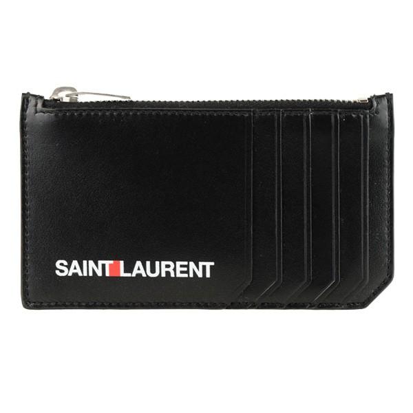サンローラン SAINT LAURENT PARIS カードケース コインケース メンズ アウトレット 458589d5j2e1070-zz