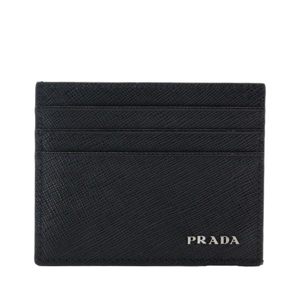 プラダ PRADA カードケース × 2mc223sabi-neme-zz