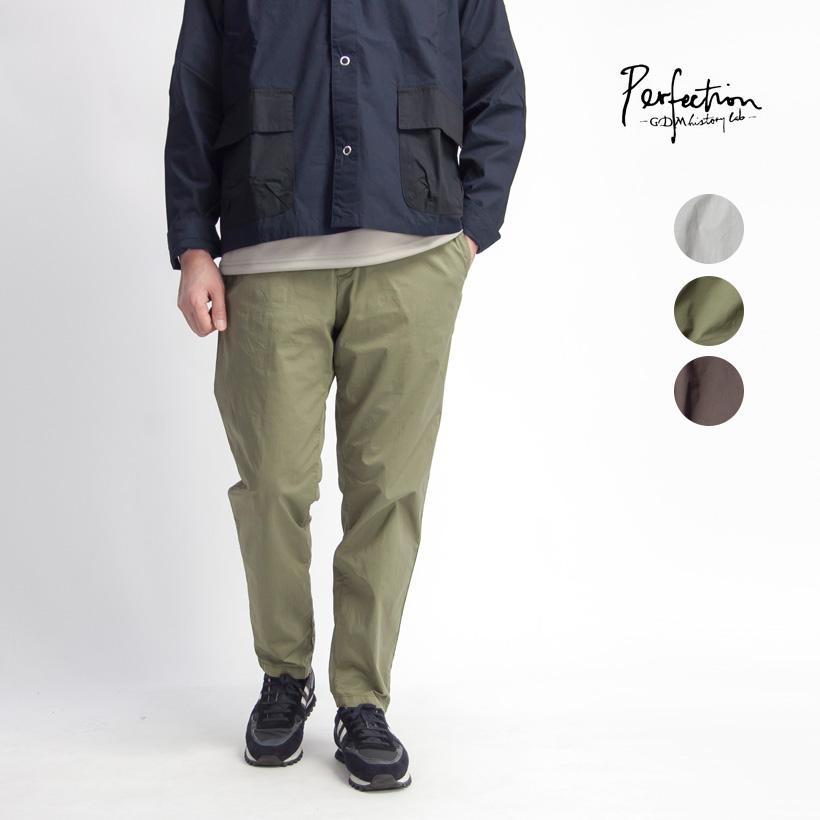 【セール】PERFECTION ペルフェクション テーパードストレッチイージーパンツ メンズ