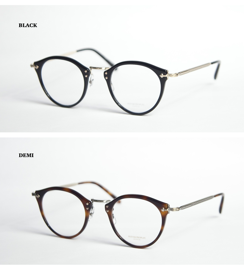 201712e2f4a OLIVER PEOPLES   Oliver Peoples   505   limited Boston Combi Megane degree