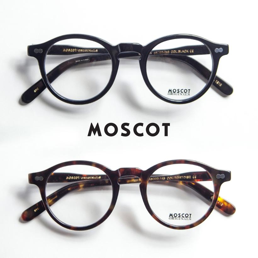 MOSCOT モスコット MILTZEN 46サイズ ボストン メガネ 伊達 度付き
