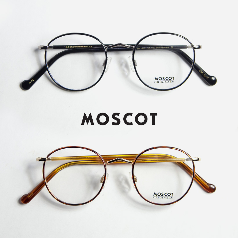 12745f5730 With MOSCOT MOS cot ZEV 46 size Shippo Boston frame glasses Date degree