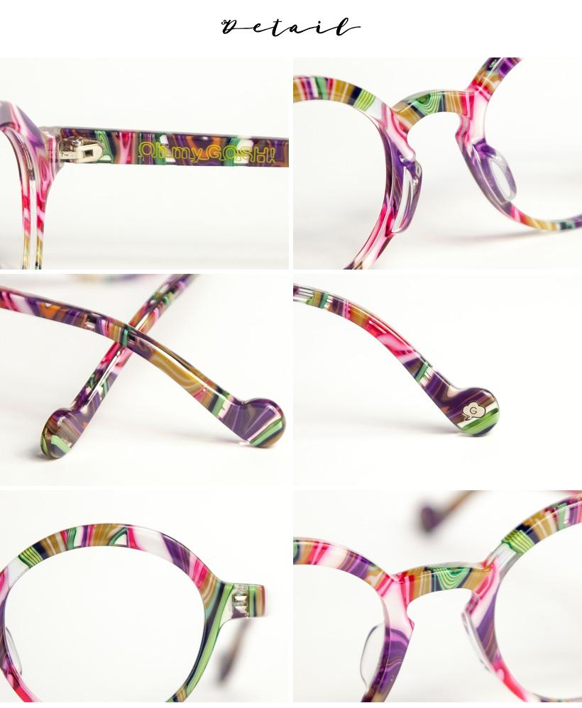 ccfe9ac0843 GOSH gosh round Megan round glasses glasses chain glasses reading glasses  senioglas ladies women fashion