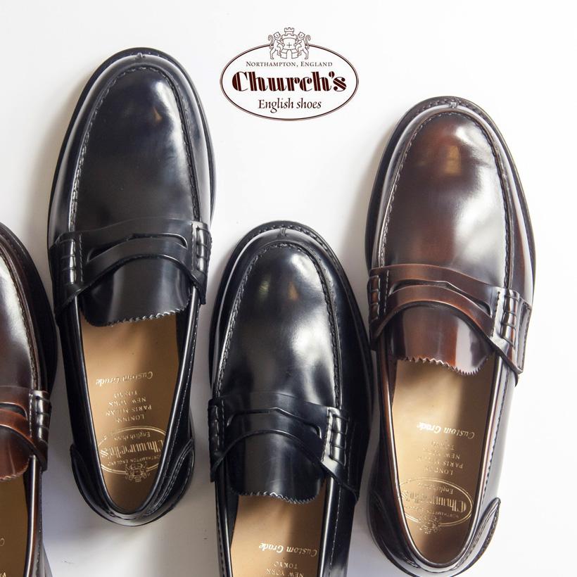 dc4d3c83271 Church  s church TUNBRIDGE Tunbridge penny loafers penny loafer genuine  leather calf-leather men