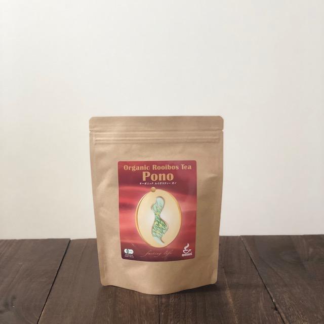 南アフリカ産 最高級グレード茶葉使用 日本限定 お気に入 ミネラル豊富なノンカフェインティー ファスティング中にも 正規品 ポノ ファスティングライフ PONO オーガニックルイボスティー