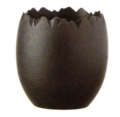 フランス製 オヴェオ ノワール 黒 30ml 卵型容器 200個セット  COMATEC(コマテック)
