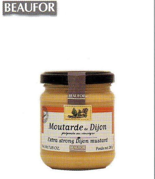 酸味のあるマスタード ディジョン マスタード 小 商店 フランス産 ボフォール マート 200g