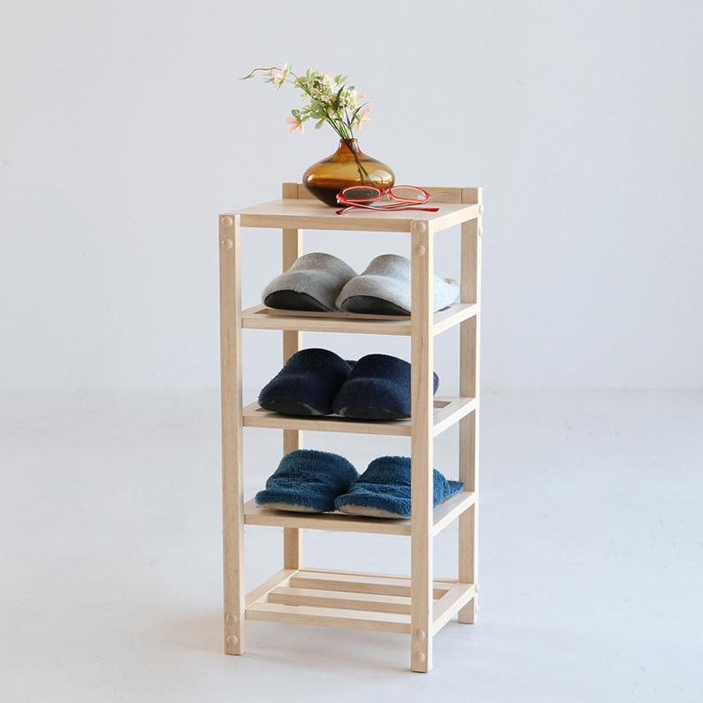 木製スリッパラック