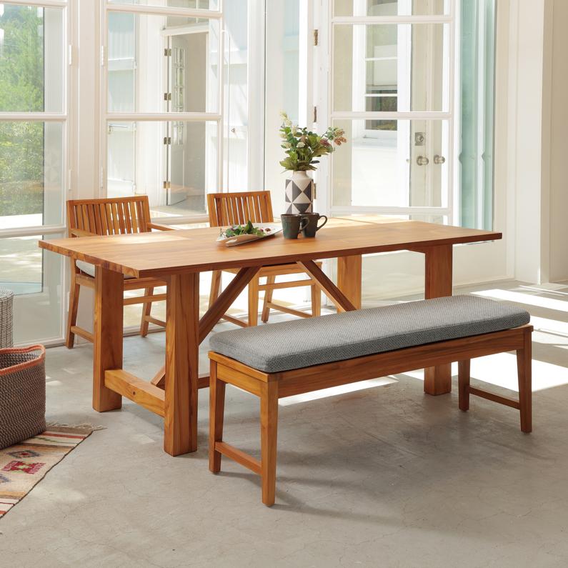 高級 lfpt-3035na ダイニングテーブル 天然木 チーク材 商品追加値下げ在庫復活 LFP Table 横幅180cm 在庫限り 1800 Dining