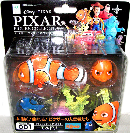 Re-Voltek Pixar figure skating collection No. 001 finding ニモニモ & Dolly